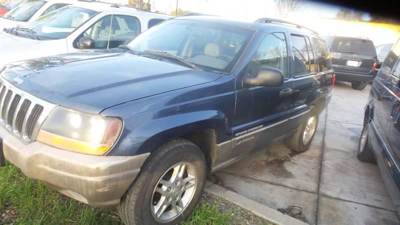 2002 Jeep Grand Cherokee for sale at Golden Gate Auto Sales in Stockton CA