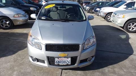 2010 Chevrolet Aveo for sale at Golden Gate Auto Sales in Stockton CA
