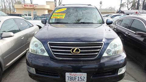 2004 Lexus GX 470 for sale at Golden Gate Auto Sales in Stockton CA
