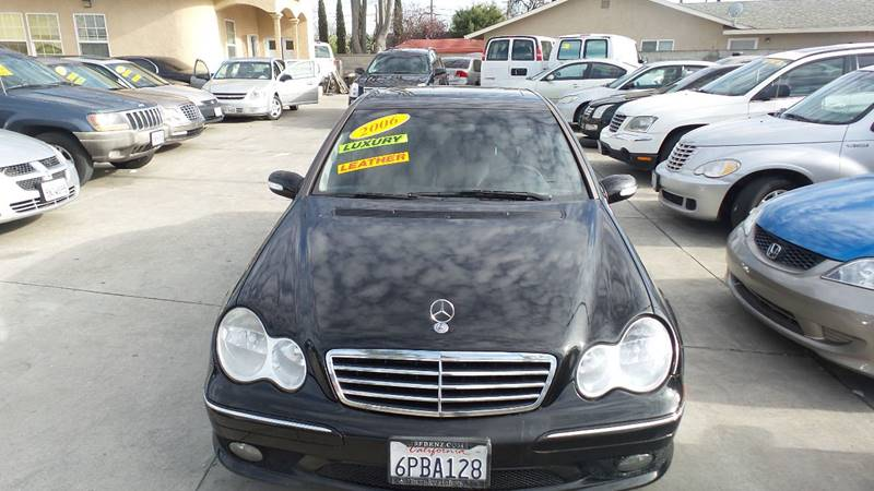 2006 Mercedes-Benz C-Class for sale at Golden Gate Auto Sales in Stockton CA