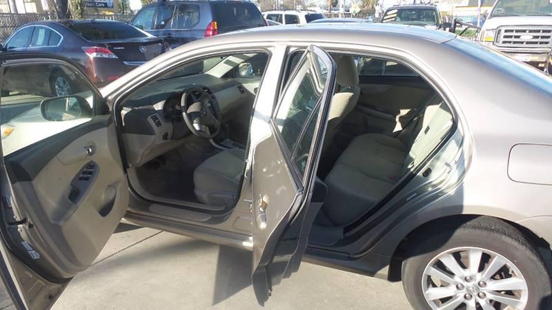 2010 Toyota Corolla for sale at Golden Gate Auto Sales in Stockton CA