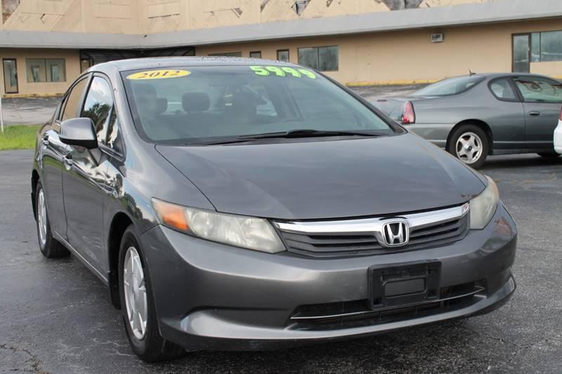 2012 Honda Civic HF 4dr Sedan   New Port Richey FL