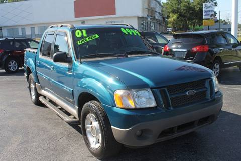 2001 Ford Explorer Sport Trac for sale in New Port Richey, FL
