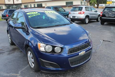 2013 Chevrolet Sonic for sale in New Port Richey, FL