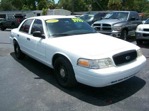 2006 Ford Crown Victoria for sale at Pasco Auto Mart in New Port Richey FL