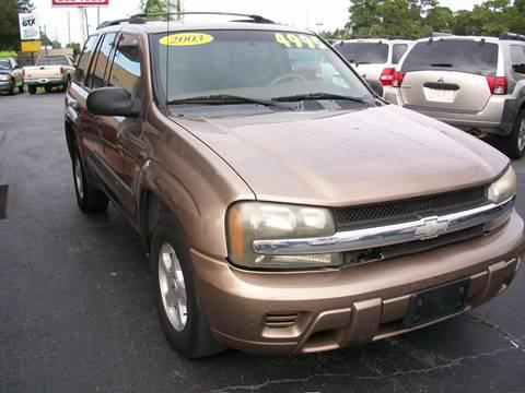 2003 Chevrolet TrailBlazer for sale in New Port Richey, FL