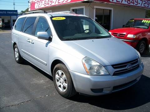 2007 Kia Sedona for sale in New Port Richey, FL