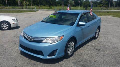 2012 Toyota Camry for sale at GOLDEN GATE AUTOMOTIVE,LLC in Zephyrhills FL