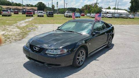 1999 Ford Mustang for sale at GOLDEN GATE AUTOMOTIVE,LLC in Zephyrhills FL