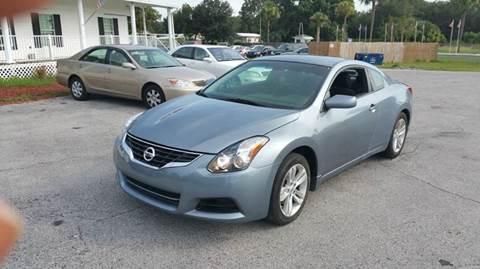 2010 Nissan Altima for sale at GOLDEN GATE AUTOMOTIVE,LLC in Zephyrhills FL