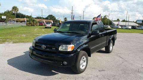 2003 Toyota Tundra for sale at GOLDEN GATE AUTOMOTIVE,LLC in Zephyrhills FL