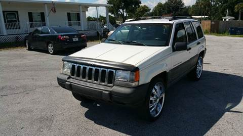 1997 Jeep Grand Cherokee for sale at GOLDEN GATE AUTOMOTIVE,LLC in Zephyrhills FL