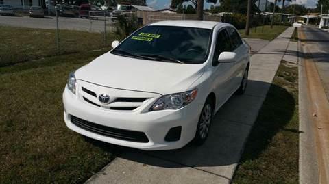 2012 Toyota Corolla for sale at GOLDEN GATE AUTOMOTIVE,LLC in Zephyrhills FL