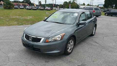 2010 Honda Accord for sale at GOLDEN GATE AUTOMOTIVE,LLC in Zephyrhills FL