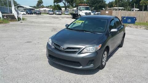 2013 Toyota Corolla for sale at GOLDEN GATE AUTOMOTIVE,LLC in Zephyrhills FL
