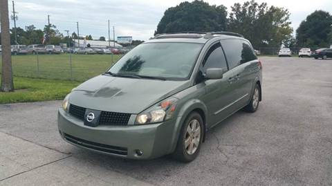 2005 Nissan Quest for sale at GOLDEN GATE AUTOMOTIVE,LLC in Zephyrhills FL