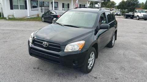 2008 Toyota RAV4 for sale at GOLDEN GATE AUTOMOTIVE,LLC in Zephyrhills FL