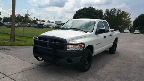 2007 Dodge Ram Pickup 1500 for sale at GOLDEN GATE AUTOMOTIVE,LLC in Zephyrhills FL