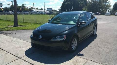 2011 Volkswagen Jetta for sale at GOLDEN GATE AUTOMOTIVE,LLC in Zephyrhills FL