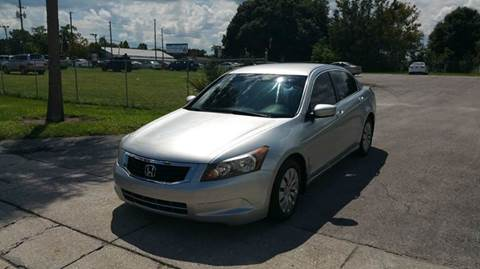 2008 Honda Accord for sale at GOLDEN GATE AUTOMOTIVE,LLC in Zephyrhills FL