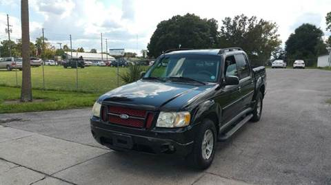 2005 Ford Explorer Sport Trac for sale at GOLDEN GATE AUTOMOTIVE,LLC in Zephyrhills FL
