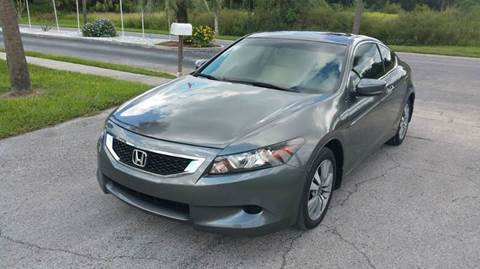 2009 Honda Accord for sale at GOLDEN GATE AUTOMOTIVE,LLC in Zephyrhills FL