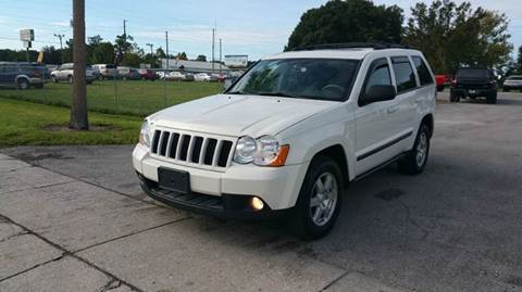 2008 Jeep Grand Cherokee for sale at GOLDEN GATE AUTOMOTIVE,LLC in Zephyrhills FL