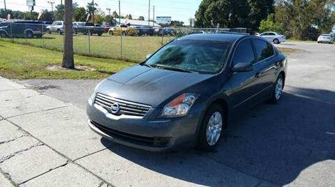 2008 Nissan Altima for sale at GOLDEN GATE AUTOMOTIVE,LLC in Zephyrhills FL
