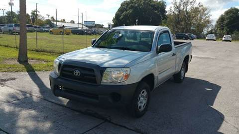 2005 Toyota Tacoma for sale at GOLDEN GATE AUTOMOTIVE,LLC in Zephyrhills FL