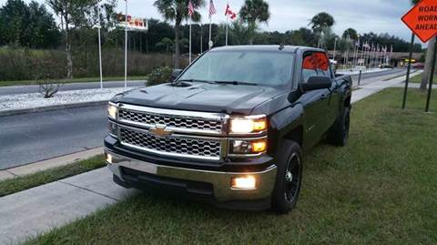 2014 Chevrolet Silverado 1500 for sale at GOLDEN GATE AUTOMOTIVE,LLC in Zephyrhills FL