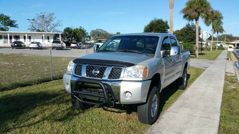 2005 Nissan Titan for sale at GOLDEN GATE AUTOMOTIVE,LLC in Zephyrhills FL