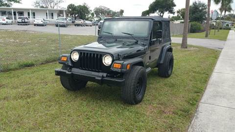 1999 Jeep Wrangler for sale at GOLDEN GATE AUTOMOTIVE,LLC in Zephyrhills FL