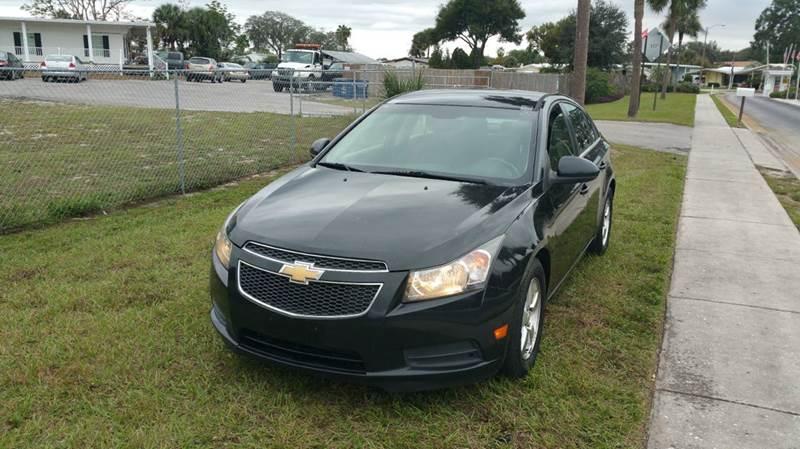 2011 Chevrolet Cruze for sale at GOLDEN GATE AUTOMOTIVE,LLC in Zephyrhills FL