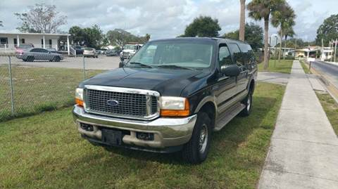 2000 Ford Excursion for sale at GOLDEN GATE AUTOMOTIVE,LLC in Zephyrhills FL