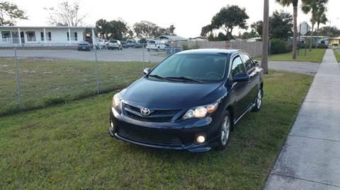 2011 Toyota Corolla for sale at GOLDEN GATE AUTOMOTIVE,LLC in Zephyrhills FL