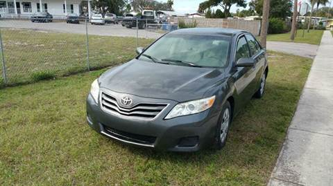 2010 Toyota Camry for sale at GOLDEN GATE AUTOMOTIVE,LLC in Zephyrhills FL