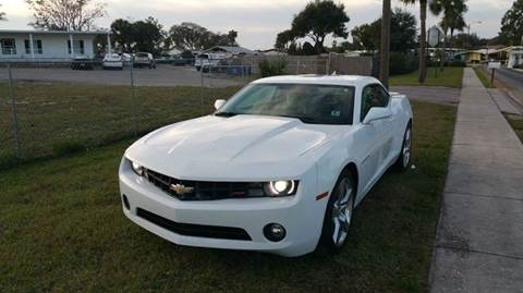 2012 Chevrolet Camaro for sale at GOLDEN GATE AUTOMOTIVE,LLC in Zephyrhills FL