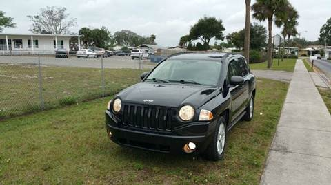2008 Jeep Compass for sale at GOLDEN GATE AUTOMOTIVE,LLC in Zephyrhills FL