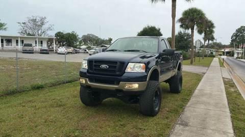 2005 Ford F-150 for sale at GOLDEN GATE AUTOMOTIVE,LLC in Zephyrhills FL