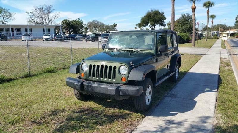 2007 Jeep Wrangler Unlimited for sale at GOLDEN GATE AUTOMOTIVE,LLC in Zephyrhills FL