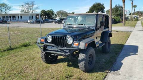 1998 Jeep Wrangler for sale at GOLDEN GATE AUTOMOTIVE,LLC in Zephyrhills FL