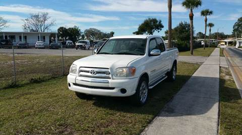 2006 Toyota Tundra for sale at GOLDEN GATE AUTOMOTIVE,LLC in Zephyrhills FL