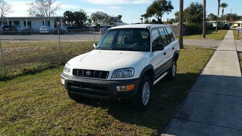 1998 Toyota RAV4 for sale at GOLDEN GATE AUTOMOTIVE,LLC in Zephyrhills FL
