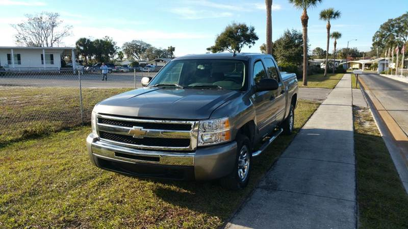2009 Chevrolet Silverado 1500 for sale at GOLDEN GATE AUTOMOTIVE,LLC in Zephyrhills FL