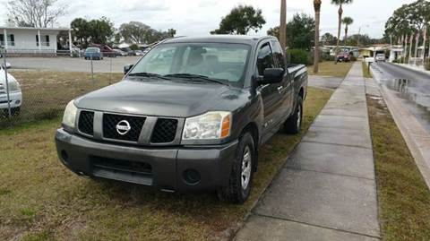 2007 Nissan Titan for sale at GOLDEN GATE AUTOMOTIVE,LLC in Zephyrhills FL
