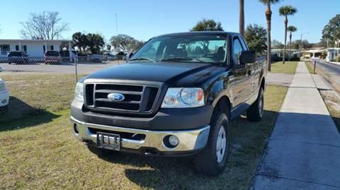 2006 Ford F-150 for sale at GOLDEN GATE AUTOMOTIVE,LLC in Zephyrhills FL