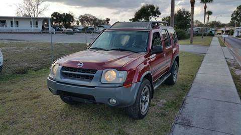 2004 Nissan Xterra for sale at GOLDEN GATE AUTOMOTIVE,LLC in Zephyrhills FL