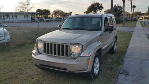 2011 Jeep Liberty for sale at GOLDEN GATE AUTOMOTIVE,LLC in Zephyrhills FL
