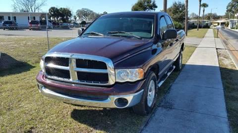 2004 Dodge Ram Pickup 1500 for sale at GOLDEN GATE AUTOMOTIVE,LLC in Zephyrhills FL