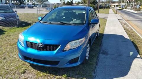 2010 Toyota Corolla for sale at GOLDEN GATE AUTOMOTIVE,LLC in Zephyrhills FL